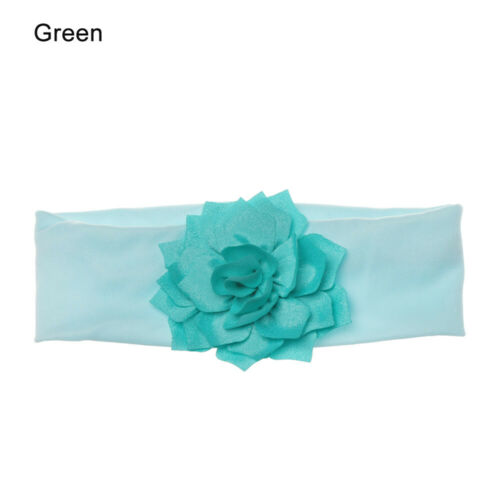 Lovely Baby Headband Turban Flower Newborn Baby Girl Elastic Headbands Headwear
