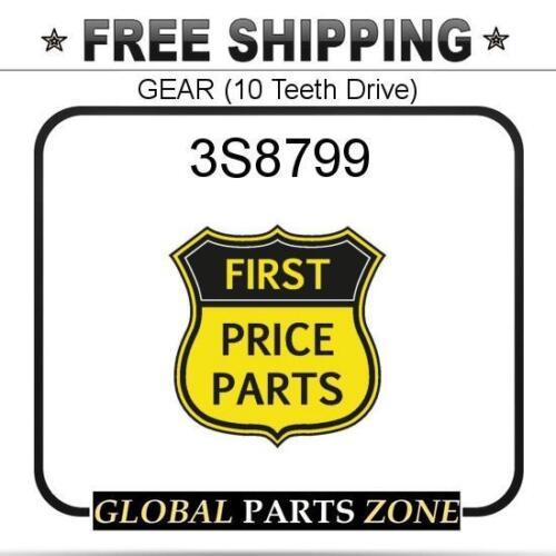 10 Teeth Drive 3S8799 fit CATERPILLAR CAT GEAR