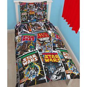 Star-Wars-Issues-Conjunto-De-Funda-Nordica-Individual-2-en-1-Reversible