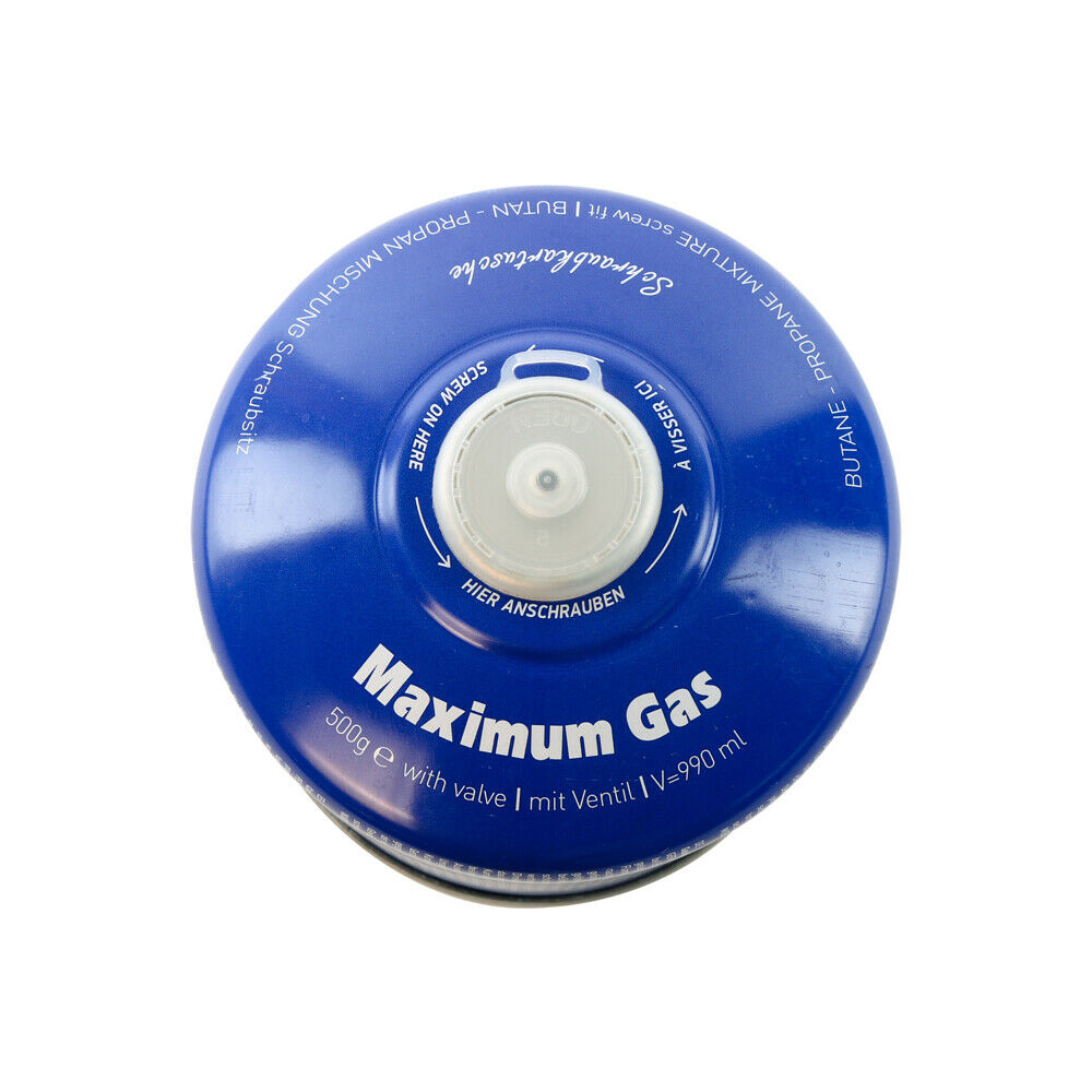 500g. Gaskartuschen MSF1a ES-01 MaXimum 1 - (bis) 12 Gaskartuschen auswählbar