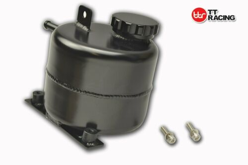 Black Aluminum Radiator Coolant Reservoir Tank For Mini R52 R53 Cooper S 05-08