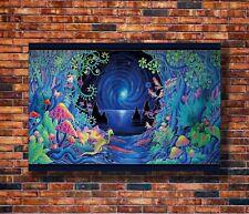 Art Poster 24x36 27x40 Bassnectar Music Cover Ablum Star Trippy 2016 Show T-1395