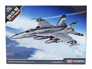 ACADEMY 1/72 FIGHTER | USN F/A-18E VFA-195 CHIPPY HO USA AIR-FORCE FIGHTER-BO...