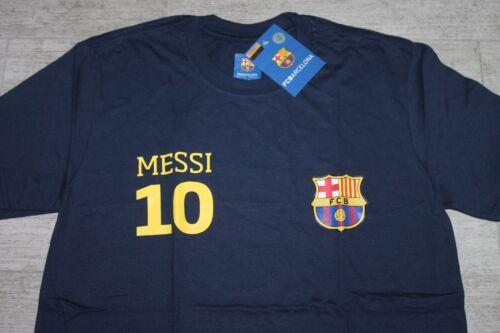 Source Lab FC Barcelona Tour Shirt Messi No 10 Blau Gelb alle Größen Neu