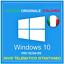 LICENZA-WINDOWS-10-PRO-RETAIL-ITALIANA-ORIGINALE-32-64-BIT-PRODUCT-KEY-WIN-10 miniature 1