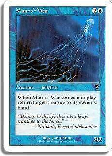 Man-o/'-War Battle Royale NM Blue Common MAGIC THE GATHERING MTG CARD ABUGames