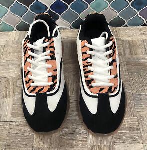 Sneaker Tennis Shoes Salmon, White