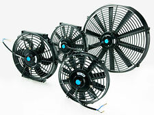 "Electric Radiator Cooling Fan Push/Pull Universal 7"" 9"" 10"" 12"" 14"" 16"""