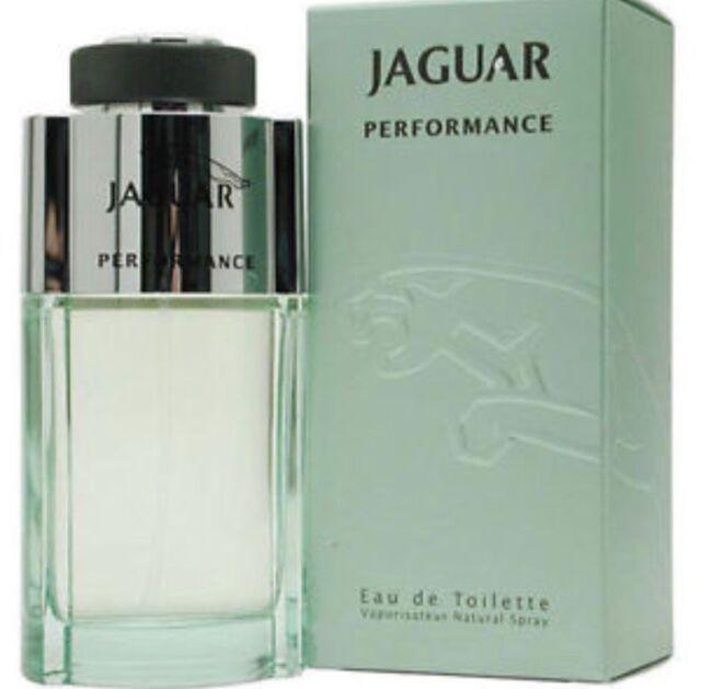 Jaguar Performance 3.4 oz   100ml EDT Eau De Toilette Spray Men Perfume  Cologne  efe8c010f39