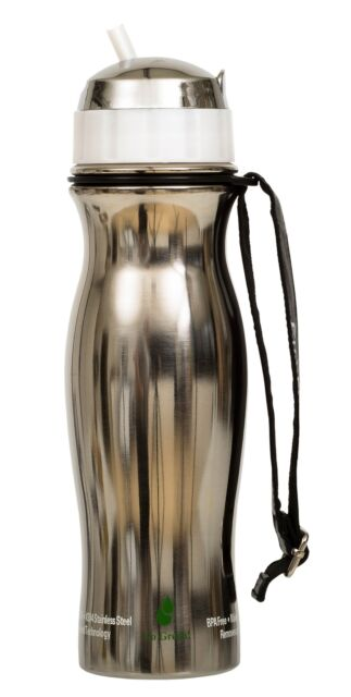 a8f3b1dcef EXTREME FILTER Fill2Pure White Stainless Steel Water Filter Drink Bottle  (725ml)