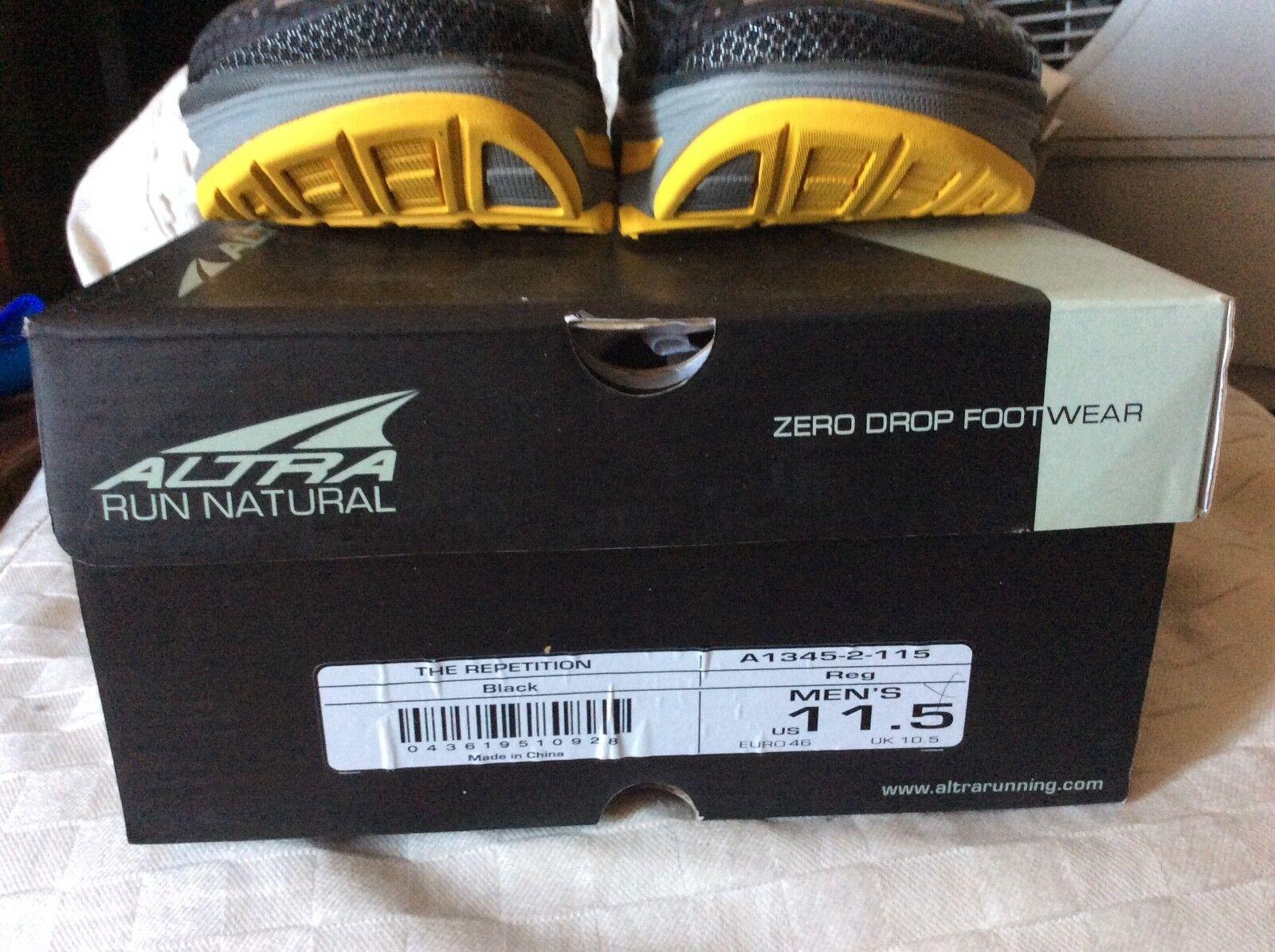 Altra Repetition Zero Running zapatos para hombre Drop