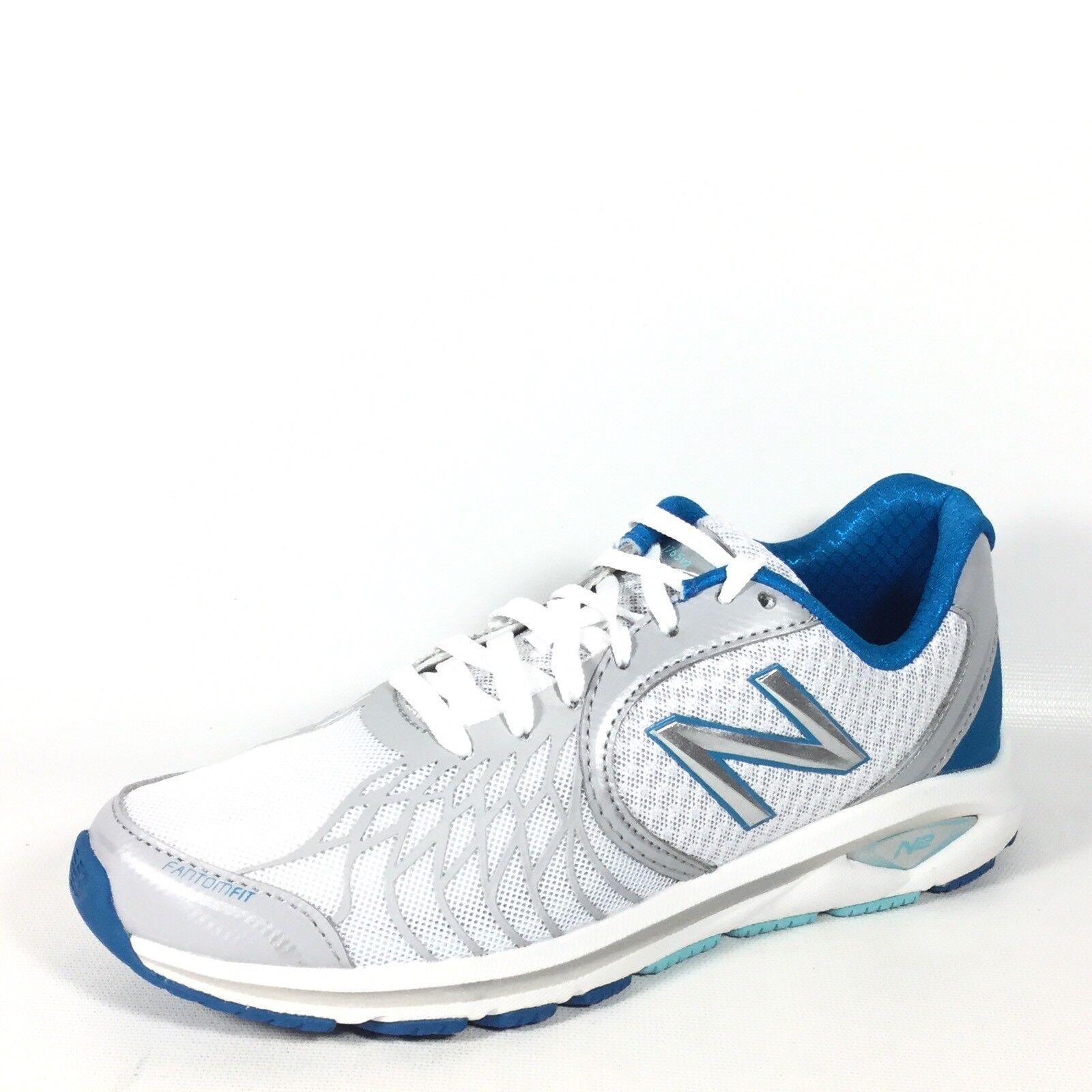 New Balance WW1765KO Womens Size 5.5 B White/Grey/Blue Walking Sneakers.