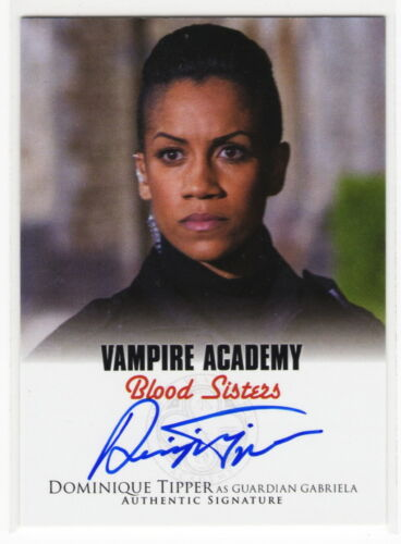 2014 Vampire Academy Blood Sisters Dominique Tipper as Gabriella Autograph Card