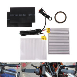 New-Motorcycle-Heated-Grip-Throttle-Pads-Handlebars-ATV-Scooter-Grips-Heater