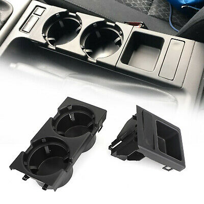 COMBO For BMW E46 3 SERIES 98-06 Center Console Storing COIN BOX /& CUP HOLDER