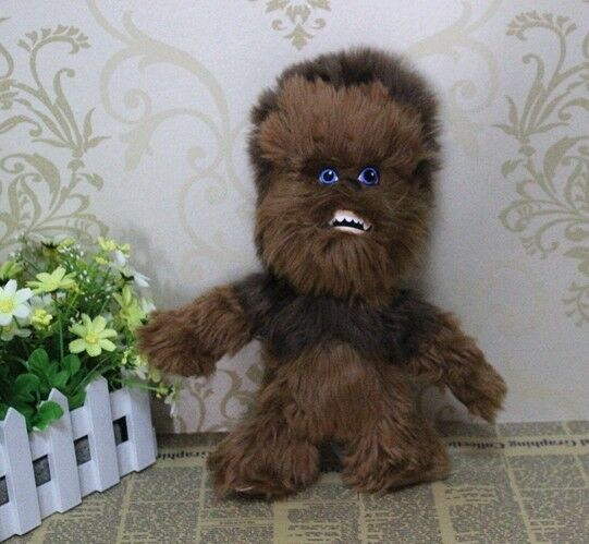 StarWars figurine : peluche-Mignon-Star Wars-Action-figurines-peluche-poupée-enfant-chewbacca