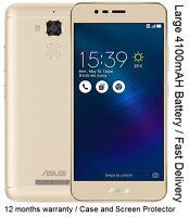 """Asus Zenfone 3 Max ZC520TL X008 5.2"""" HD Display 3GB RAM 32GB Android NEW"""