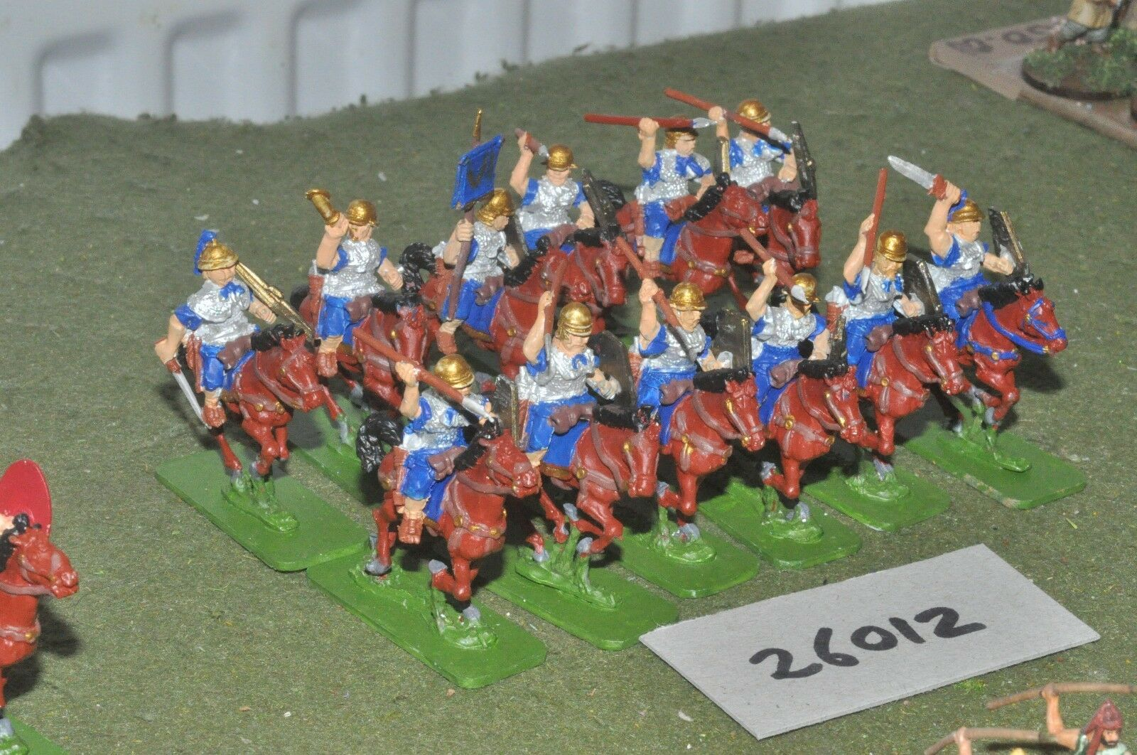 25mm roman era   roman - heavy 12 figures - cav (26012)