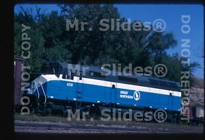 Original-Slide-GN-Great-Northern-Clean-Paint-F45-439-In-1969