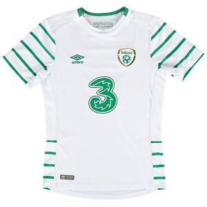 low priced 381c0 7e021 Details about Republic of Ireland National Football Soccer Team Away Jersey  16/17, BNWT, EURO