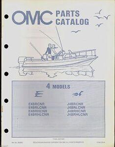 1982 omc johnson evinrude 4 hp outboard motor parts manual rh ebay com 1982 johnson 15 hp outboard manual 1982 johnson 35 hp outboard manual