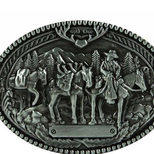 2x Horse Vintage Mens Belt Buckle Western Cowboy  Replacement