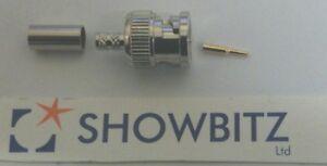 50-Ohm-BNC-Coaxial-crimp-connector-RG58-gold-tip-centre-PLUG