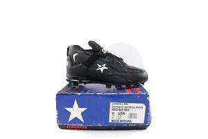 NOS-Vintage-90s-Converse-Cons-Longball-Mid-Baseball-Cleats-Black-Men-s-Size-11
