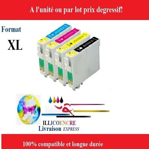 Cartuchos de Tinta Compatibles para Epson XP-332-335-342-345-352 Expression Home