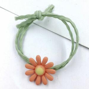 1PC-OrangeDaisy-Flower-Fashion-Elastic-Hair-Ring-Rubber-Bands-Ponytail-Hair-Rope