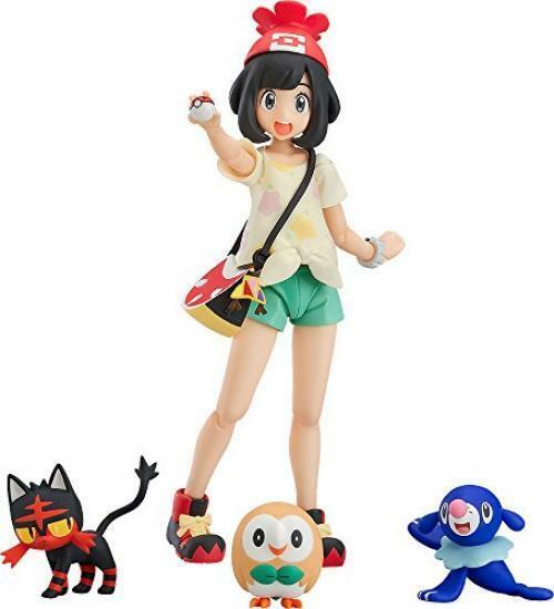 NEW Good Smile Company figma Pokemon Selene Pre-painted PosableFigure From Japan