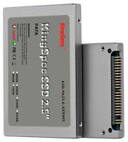 128gb Kingspec 2.5 Pata/ide Ssd Solid State Disk Mlc Flash Sm2236 Controller