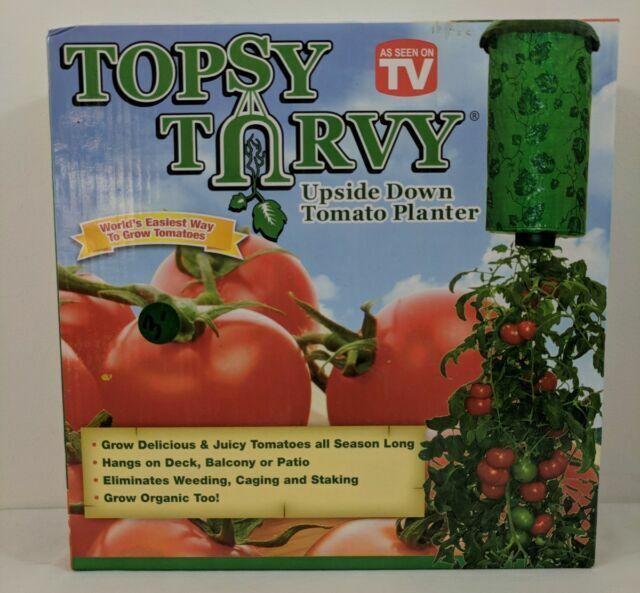 Topsy Turvy Upside Down Tomato Planter As Seen On TV Grow Tomato's All Season