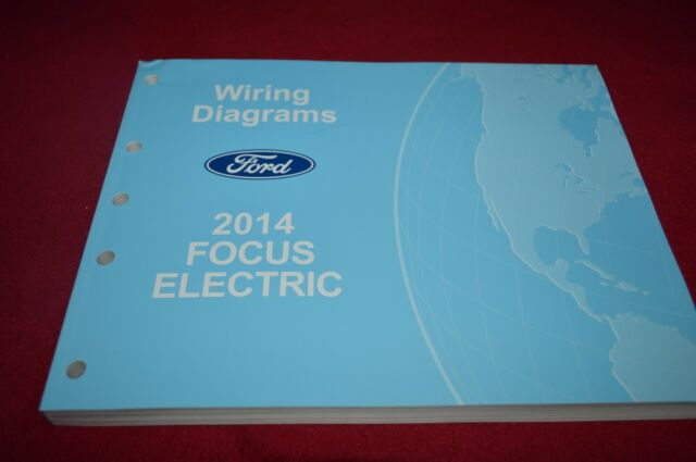 2014 Ford Focus Electric Dealer Wiring Diagrams Manual