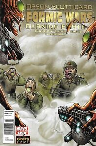 Orson-Scott-Card-Formic-Wars-Burning-Earth-Comic-Issue-7-Modern-Age-First-Print
