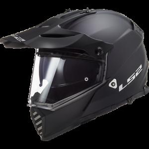 LS2 MX436 PIONEER EVO OFF ROAD DUAL SPORT MOTORCYCLE HELMET MATT BLACK