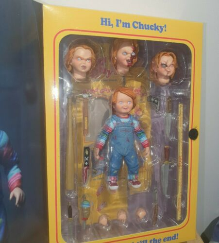 NECA BAMBINO PLAY Ultimate Chucky Action Figure buoni 10cm Genuine UK STOCK