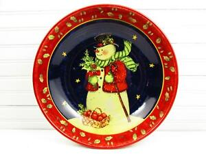 Certified-International-12-034-Salad-Pasta-Bowl-Snowman-Holly-Stars-Susan-Winget