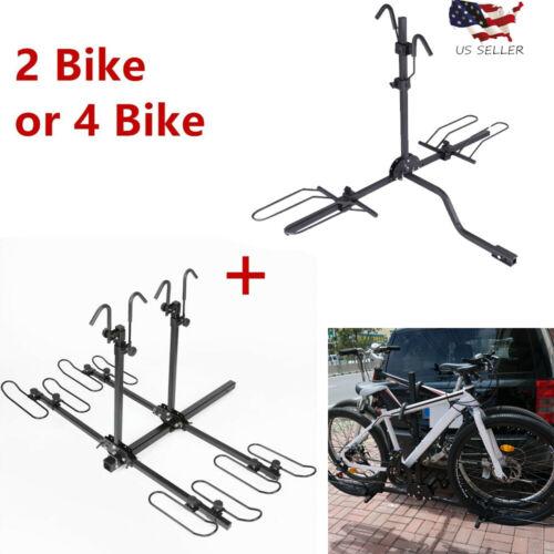 2 Bike 4 Bike Bicycle Carrier Hitch Receiver Heavy Duty 2/'/' Mount Rack Truck SUV