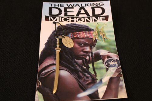 Michonne Katana//Samurai//Sword *Necklace and Earring Set* The Walking Dead *NEW*
