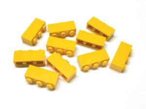 362224 Lego Stein Brick 1 x 3 Gelb 10 Stück Neu