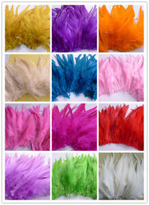 50/100/500pcs Beautiful Rooster Feathers 15-20cm/6-8inch Feather Craft Making