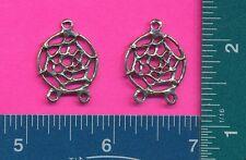 12 wholesale pewter dream catcher pendants 3020