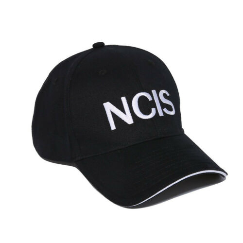 2019 NCIS Embroidered Curved TV Black Cap Hat Crime Drama Naval Investigation