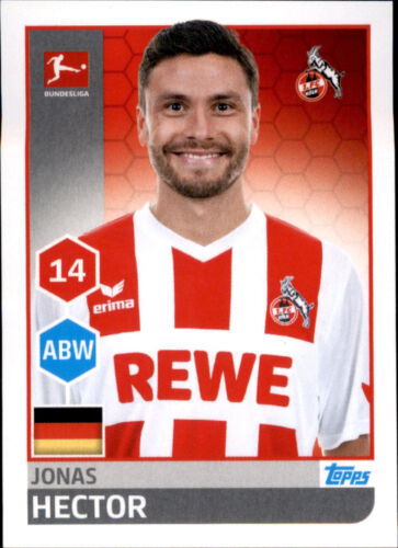 Sticker 140 Jonas Hector TOPPS Bundesliga 2017//2018