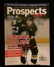 Robbie Rob Schremp Signed Prospects Magazine London Knights New York Islanders