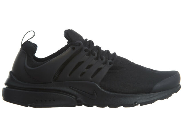 Nike Air Presto Essential Mens 848187-011 Black Mesh Running Shoes Size 13 240592ab1