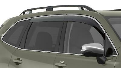 2019 Subaru Forester Side Window WIND Deflectors Vent Visors F0010SJ020 Genuine