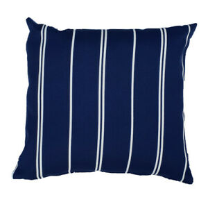 Blue Pinstripe Hamptons Style Indoor Outdoor Cushion Cover Australian Made Ebay
