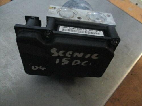 RENAULT MEGANE SCENIC MK2 BOSCH ABS BRAKE PUMP /& MODULE 8200038695 0265231300